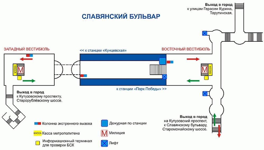 России метро автозаводская сколько выходов в город всей России