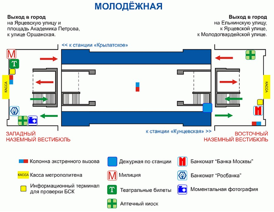 схема метро москвы ст молодежная деятельности: Транспорт